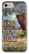 Whistling Meadows Elk IPhone Case by JQ Licensing