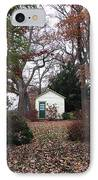 White House In The Garden IPhone Case