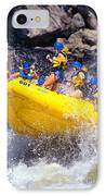 Whitewater Thrill Ride IPhone Case by Thomas R Fletcher