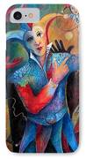 Who's The Fool. IPhone Case by Susanne Clark