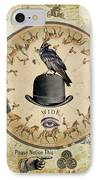 Wide Awake IPhone Case by Judy Wood