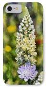 Wild Mignonette IPhone Case by George Atsametakis
