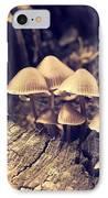 Wild Mushrooms IPhone Case by Amanda Elwell