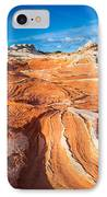 Wild Sandstone Landscape IPhone Case by Inge Johnsson