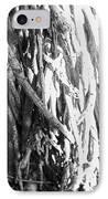 Wild Surface Roots IPhone Case by Sandra Pena de Ortiz