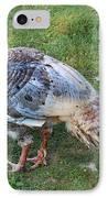 Wild Turkey  IPhone Case by Lee Dos Santos