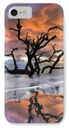 Wildfire IPhone Case by Debra and Dave Vanderlaan