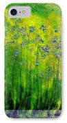 Wildflower Impression By Jrr IPhone Case by First Star Art