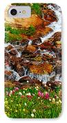 Wildflower Waterfall IPhone Case