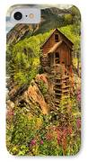 Wildflowers At Crystal IPhone Case by Adam Jewell