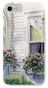 Window Boxes IPhone Case by David Lloyd Glover