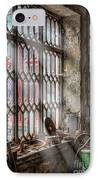 Window Decay IPhone Case by Adrian Evans