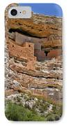 Window To The Past - Montezuma Castle IPhone Case by Christine Till