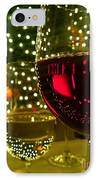 Wine And Lights IPhone Case by Micah May
