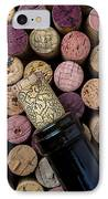 Wine Bottle With Corks IPhone Case