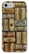 Wine Corks After The Wine Tasting IPhone Case by Paul Ward