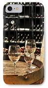 Wine Glasses And Barrels IPhone Case by Elena Elisseeva