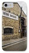 Wine Wharf IPhone Case by Heather Applegate