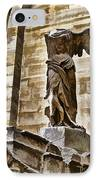 Winged Victory - Louvre IPhone Case by Jon Berghoff