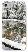 Winter Along Cranberry River IPhone Case by Thomas R Fletcher