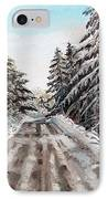 Winter In The Boons IPhone Case by Shana Rowe Jackson