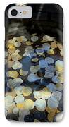 Wishing Well With Coins Perspective IPhone Case