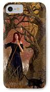 Witch Of The Autumn Forest  IPhone Case