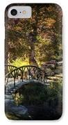 Woddard Park Bridge II IPhone Case