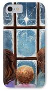 Wonder Of The Night IPhone Case by Janine Riley