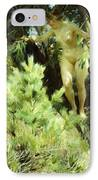 Wood-sprite IPhone Case