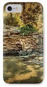 Woodard Park Koi Pond IPhone Case by Tamyra Ayles