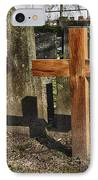Wooden Cross IPhone Case by Hans Engbers