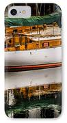 Wooden Sailboat IPhone Case
