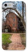 Wood's Grist Mill In Hobart Indiana IPhone Case by Paul Velgos