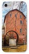 Wood's Grist Mill In Northwest Indiana IPhone Case