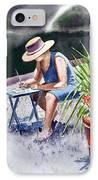 Working Artist IPhone Case by Irina Sztukowski
