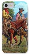 Working Partners IPhone Case by Randy Follis