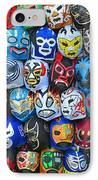 Wrestling Masks Of Lucha Libre IPhone Case
