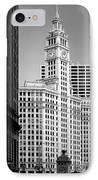 Wrigley Building - A Chicago Original IPhone Case by Christine Till