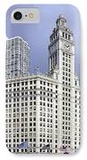 Wrigley Building Chicago IPhone Case
