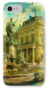 Wurzburg Residence With The Court Gardens And Residence Square IPhone Case by Catf
