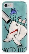 Xrayed Tooth IPhone Case
