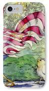 Yankee-doodle-doo IPhone Case by Linda Shelton