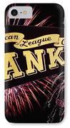 Yankees Pennant 1950 IPhone Case