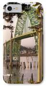Yaquina Bay Bridge Morning Light IPhone Case by Darren  White