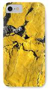 Yellow Line Abstract IPhone Case