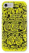 Yellow Oreo IPhone Case
