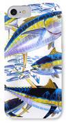 Yellowfin Run IPhone Case