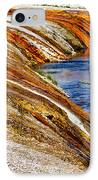 Yellowstone Earthtones IPhone Case by Bill Gallagher