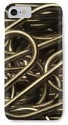 Yin-yang IPhone Case by Luke Moore